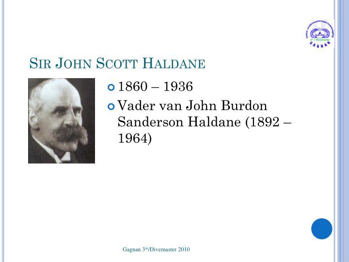 Sir John Scott Haldane