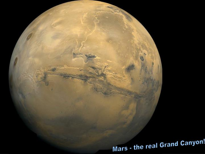 Mars - the real Grand Canyon!