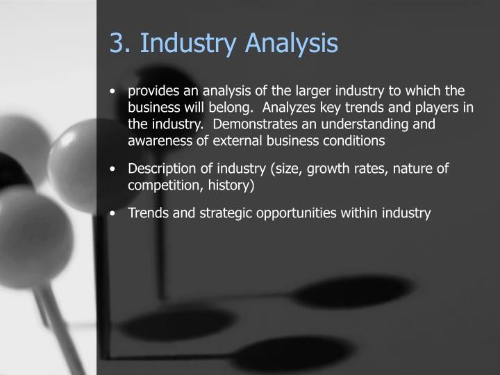 3. Industry Analysis
