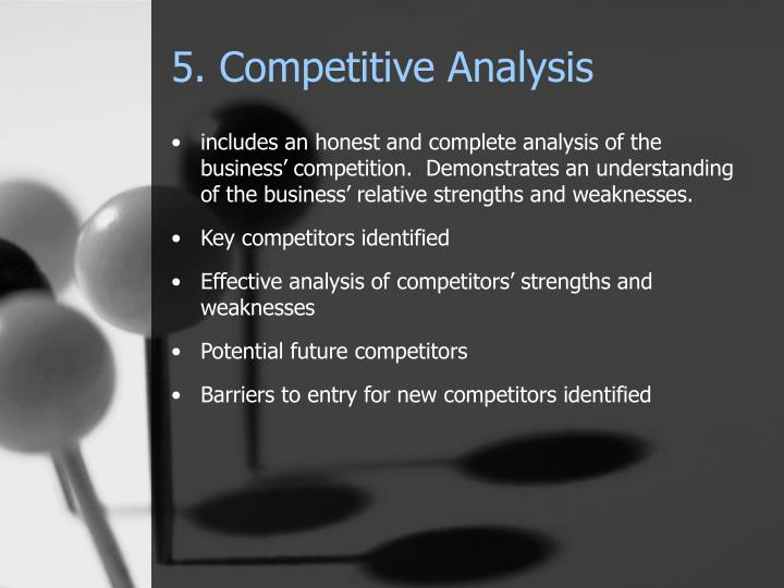 5. Competitive Analysis