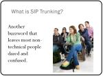 what is sip trunking1