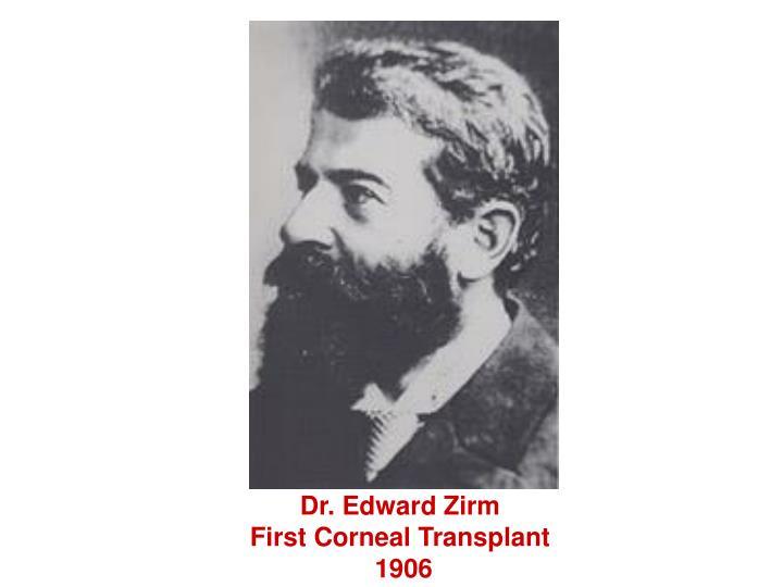 Dr. Edward Zirm