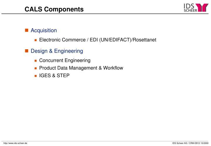 CALS Components