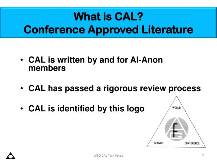 What is CAL?