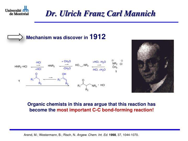 Dr. Ulrich Franz Carl