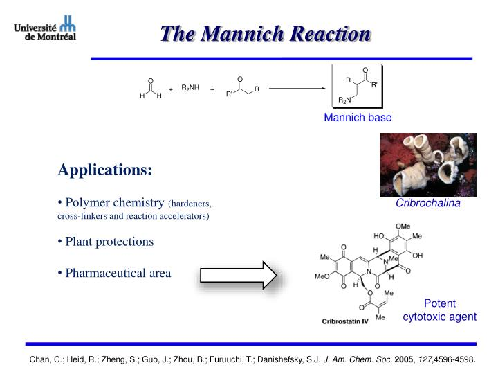 The mannich reaction