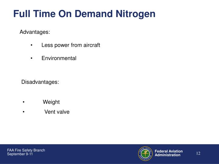 Full Time On Demand Nitrogen
