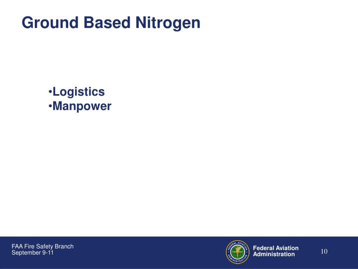 Ground Based Nitrogen