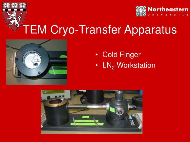 TEM Cryo-Transfer Apparatus