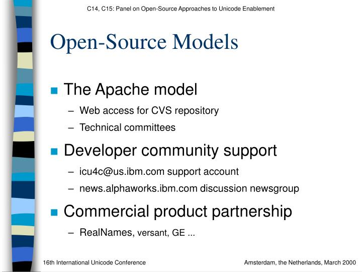 Open-Source Models