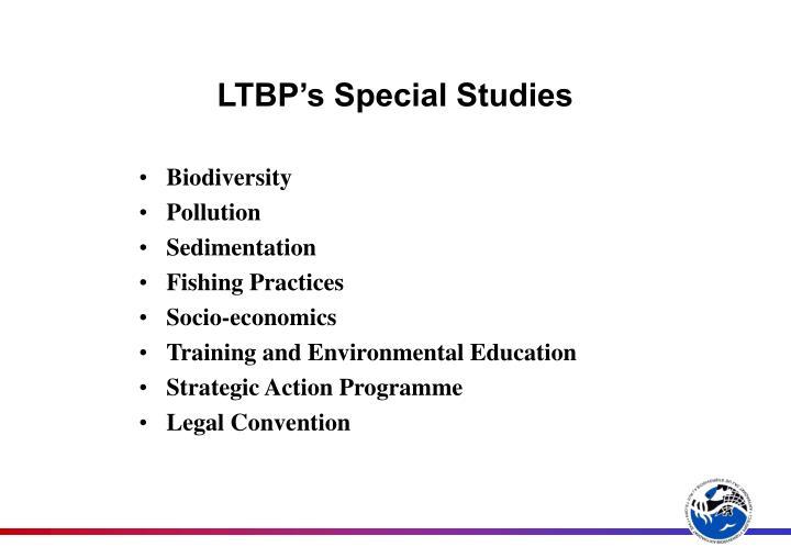 LTBP's Special Studies