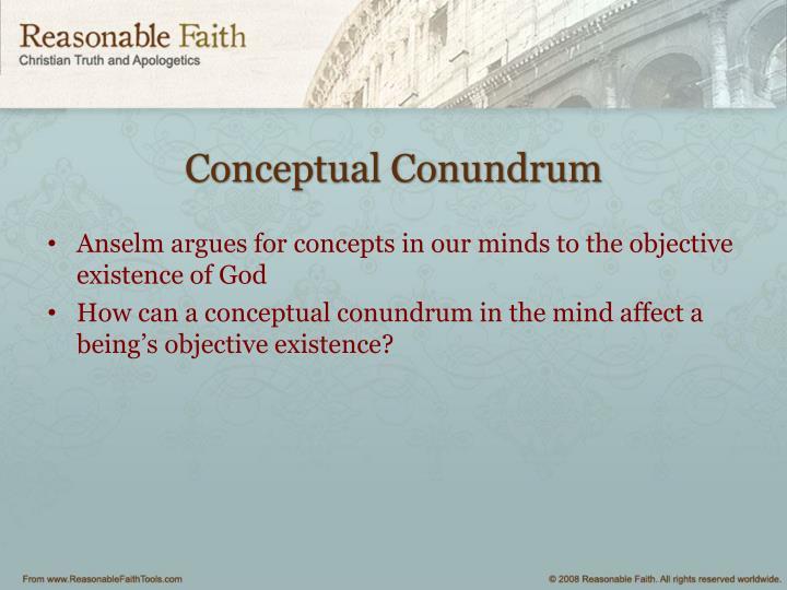 Conceptual Conundrum