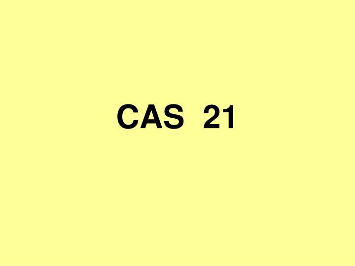CAS  21
