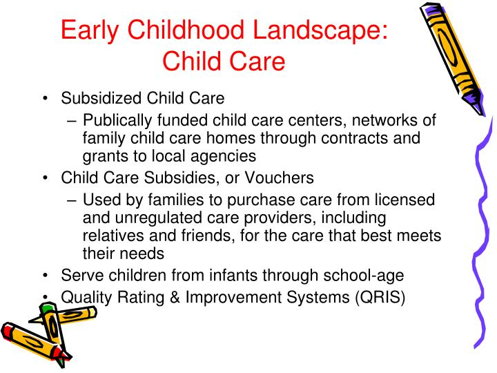 Early Childhood Landscape: Child Care