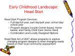 early childhood landscape head start3