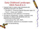 early childhood landscape idea parts b c