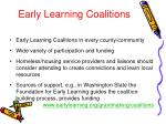 early learning coalitions