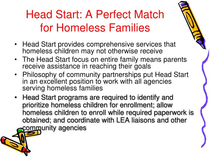Head Start: A Perfect Match for Homeless Families