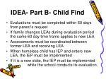 idea part b child find