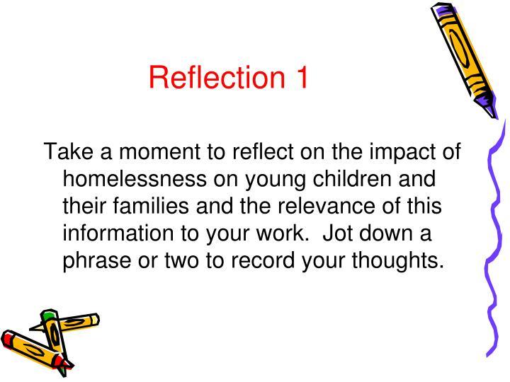 Reflection 1