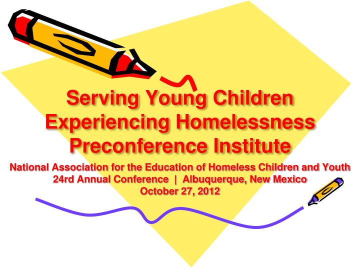 Serving Young Children Experiencing Homelessness