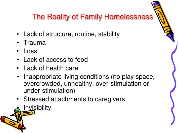 The Reality of Family Homelessness