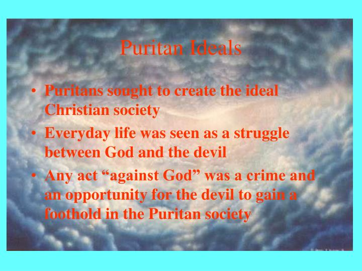 Puritan ideals