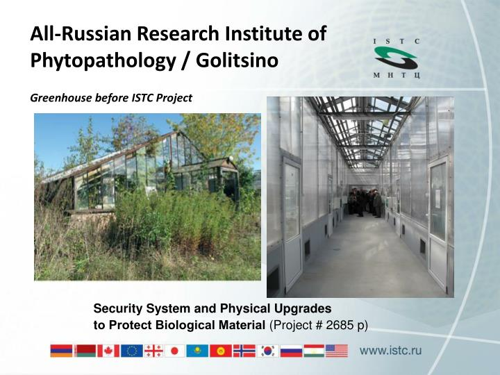 All-Russian Research Institute of Phytopathology