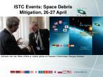 istc events space debris mitigation 26 27 april