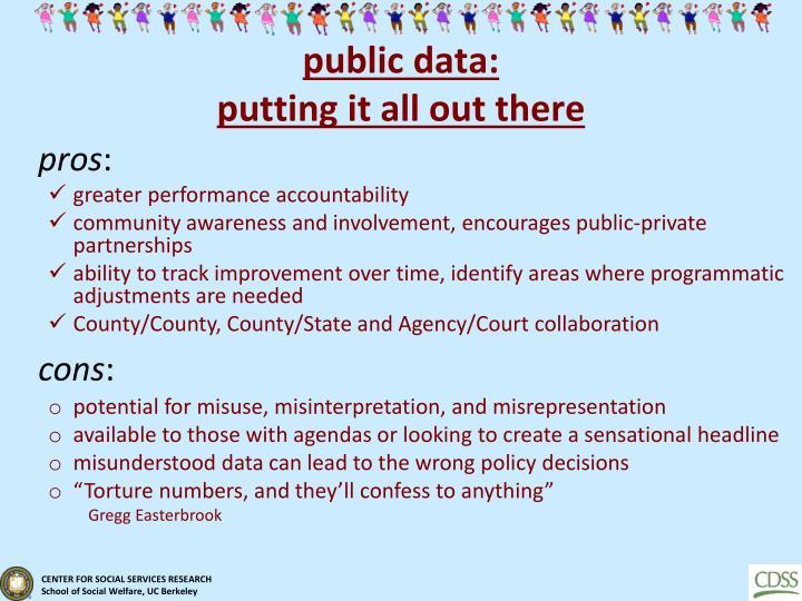 public data: