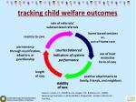 tracking child welfare outcomes