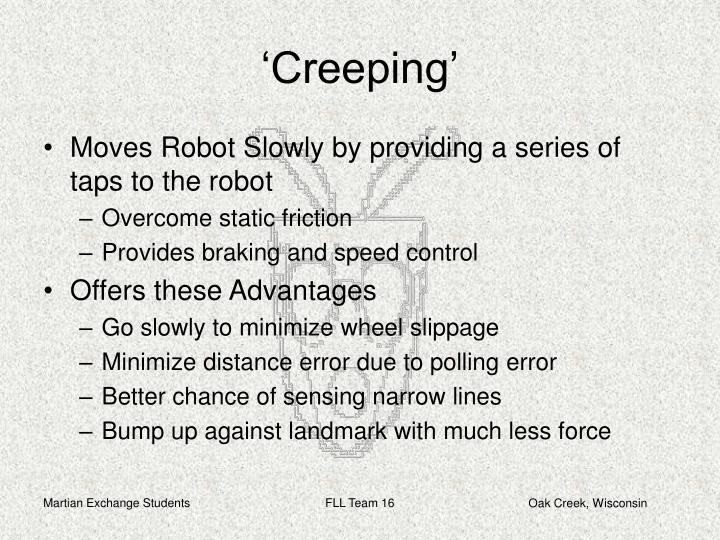 'Creeping'