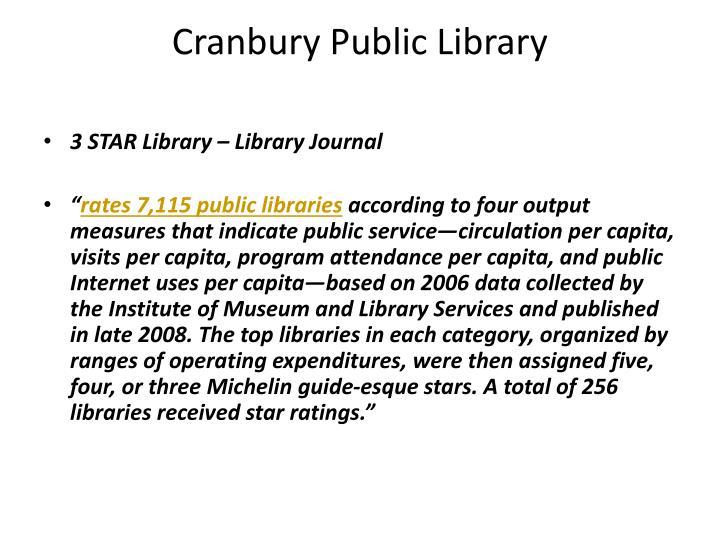 Cranbury Public Library