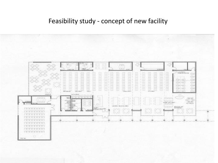 Feasibility study - concept of new facility