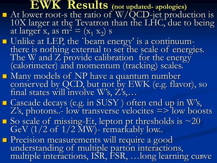 EWK  Results