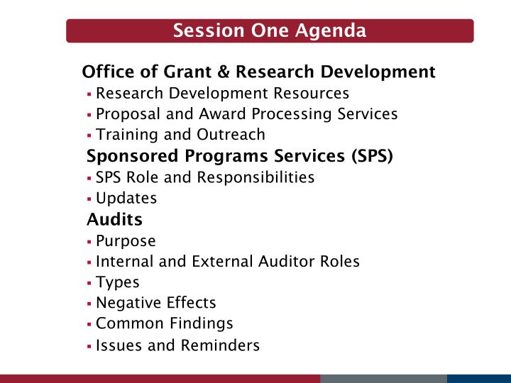 Office of Grant & Research Development