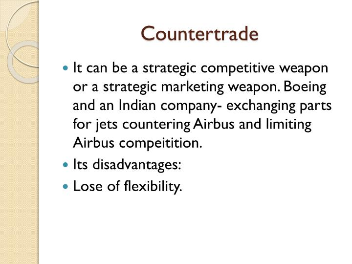 Countertrade