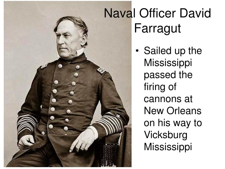 Naval Officer David Farragut