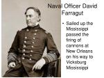 naval officer david farragut