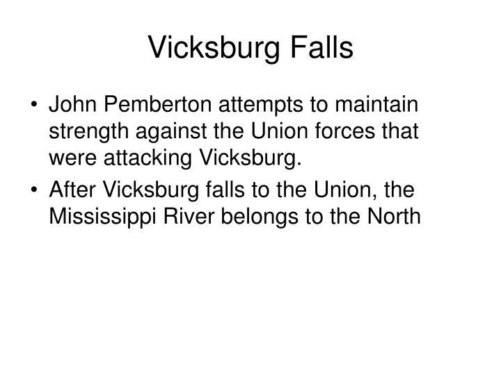 Vicksburg Falls
