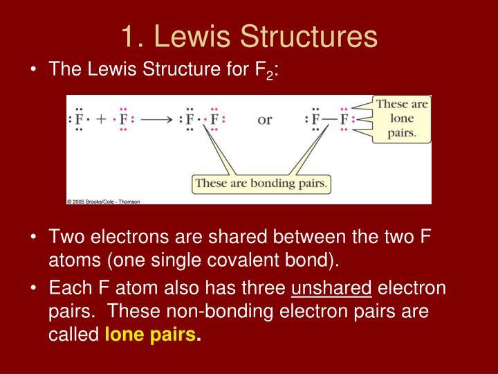 1. Lewis Structures