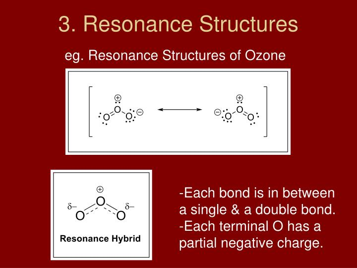 3. Resonance Structures