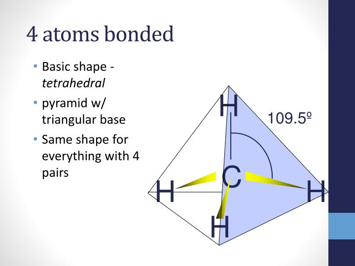 4 atoms bonded