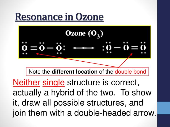 Resonance in Ozone