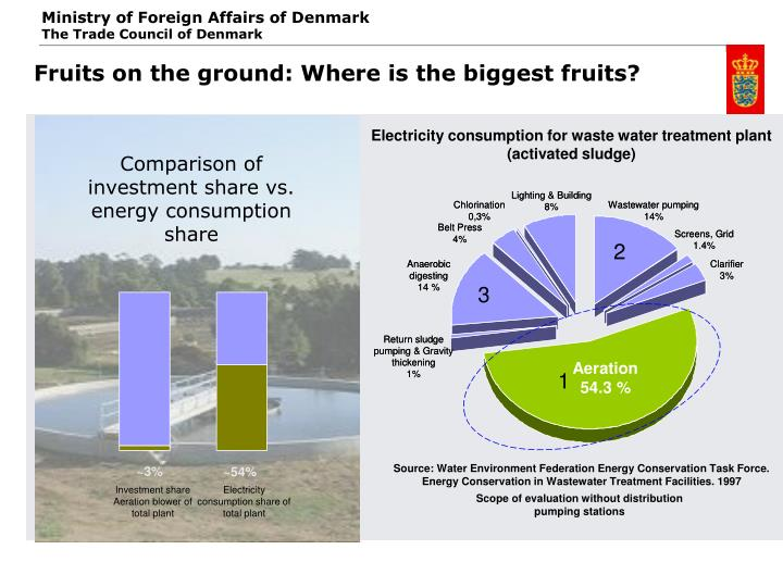 Fruits on the ground: Where is the biggest fruits?
