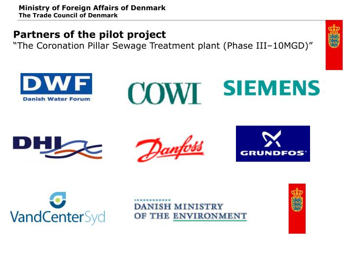 Partners of the pilot project