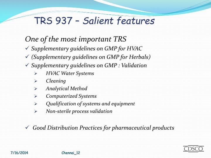 TRS 937 –