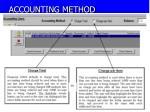 accounting method
