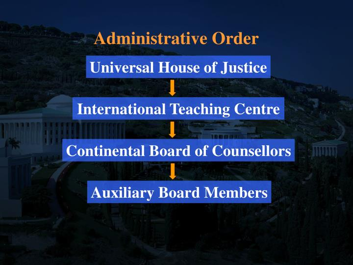 Administrative Order