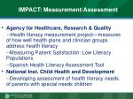 impact measurement assessment